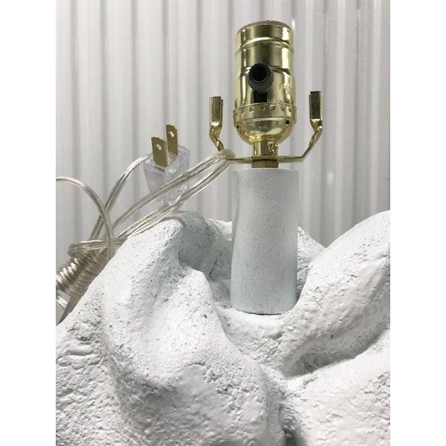 American John Dickinson Style Plaster Floor Lamp For Sale - Image 3 of 12