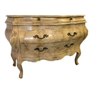 Italian Carved Bombay Chest For Sale