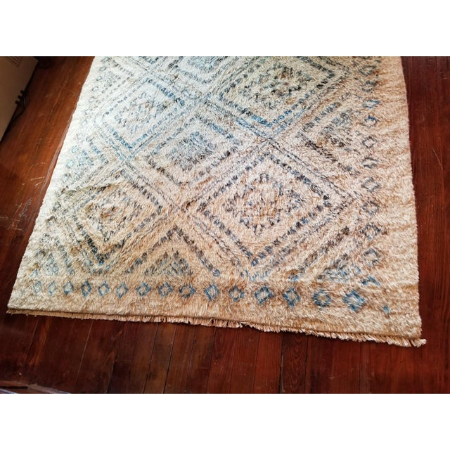 Moroccan Area Rug - 6′ × 8′11″ For Sale - Image 4 of 7