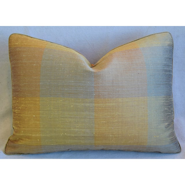 """French Pierre Frey La Riviere Feather/Down Pillow 22"""" X 16"""" For Sale In Los Angeles - Image 6 of 8"""