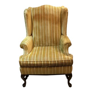 Ethan Allen Traditional Classics Wingback Chair For Sale