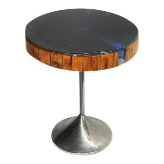 """""""Azure"""" Round Side Table"""