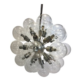 Lightolier Sputnik Atomic Chandelier Mid Century