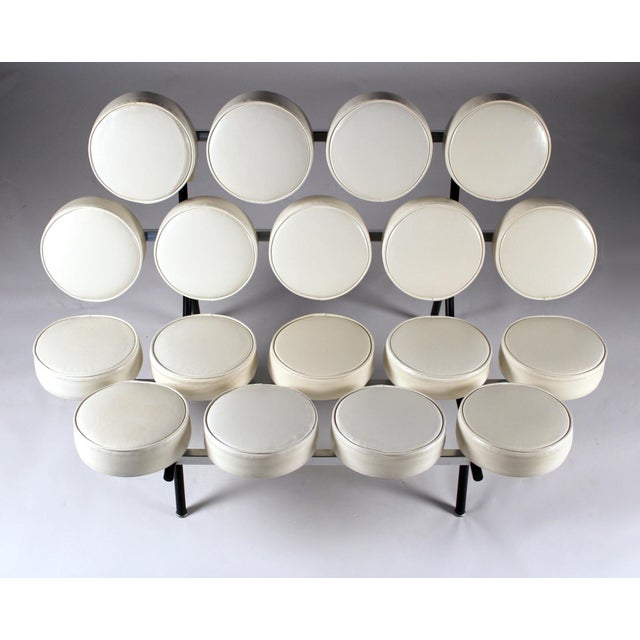 Herman Miller Early Marshmallow Sofa by George Nelson for Herman Miller For Sale - Image 4 of 11