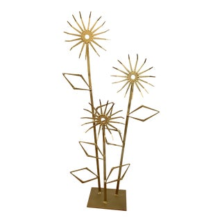 Brutalist Jere Style Floral Sculpture