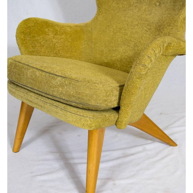 Green Carl Gustav Hiort af Ornäs Lounge Chair For Sale - Image 8 of 10