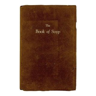 """Book of Soyp"" Aschel Curtis 1936 Book"