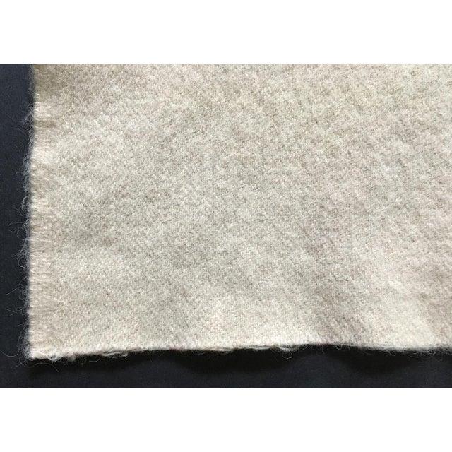 Cabin Vintage 1960s Wool Blanket For Sale - Image 3 of 5