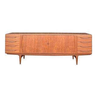 1960s Mid-Century Teak Sideboard by Johannes Anderson for Uldum Mobelfabrik For Sale