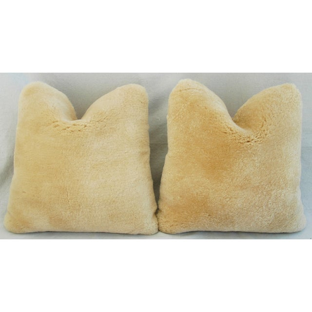 Pierre Frey Plush Lambswool Pillows - A Pair - Image 7 of 10