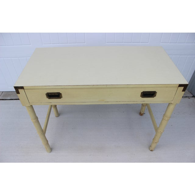 Dixie Campaigner Writing Desk - Image 4 of 11