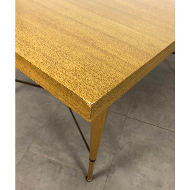 1950s Vintage Paul McCobb Irwin Calvin Dining Table For Sale - Image 9 of 11