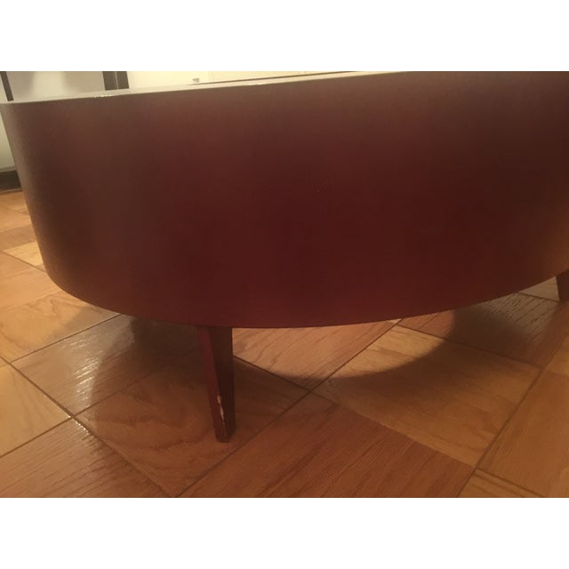 Red Round Coffee Table - Image 6 of 10