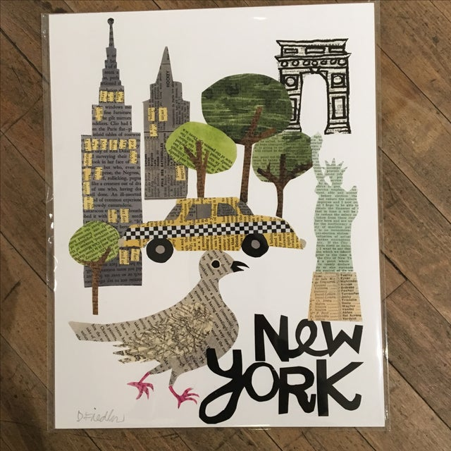 New York City Collage Print - Image 2 of 4