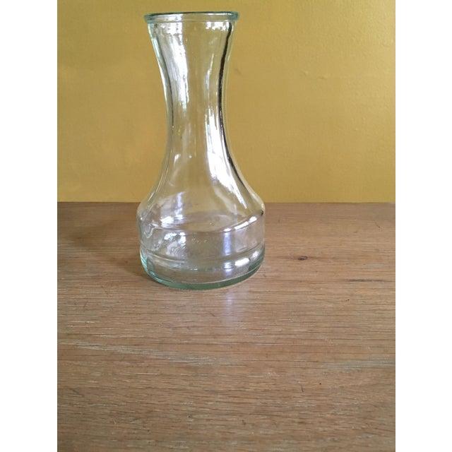 Vintage Clear Glass Vase - Image 2 of 4