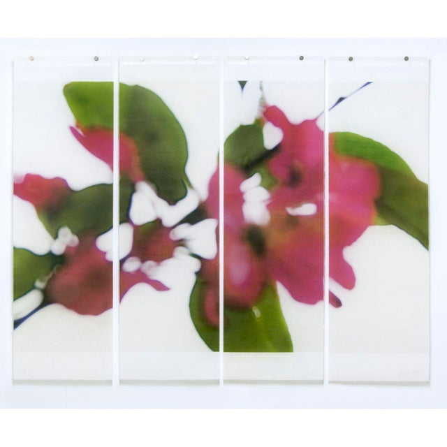 Contemporary Till It's Time to Go, No. 27, 2015, Archival pigment ink on kozo paper infused with encaustic medium by Jeri Eisenberg For Sale - Image 3 of 3