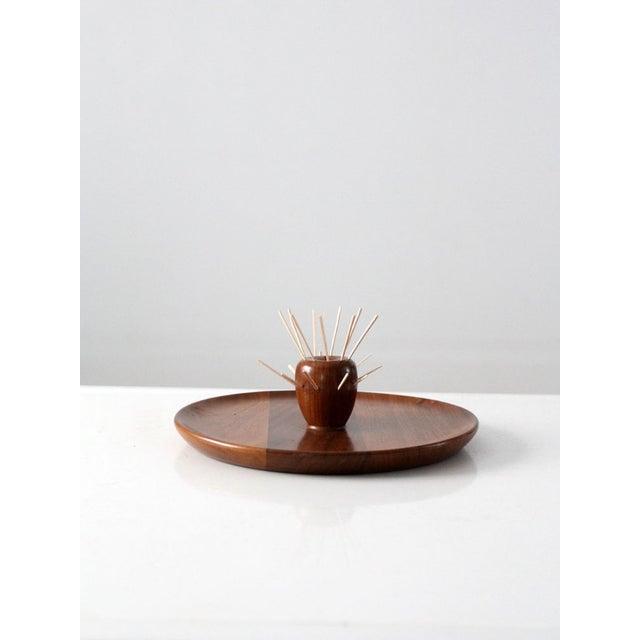 Mid-Century Walnut Serving Tray - Image 7 of 8