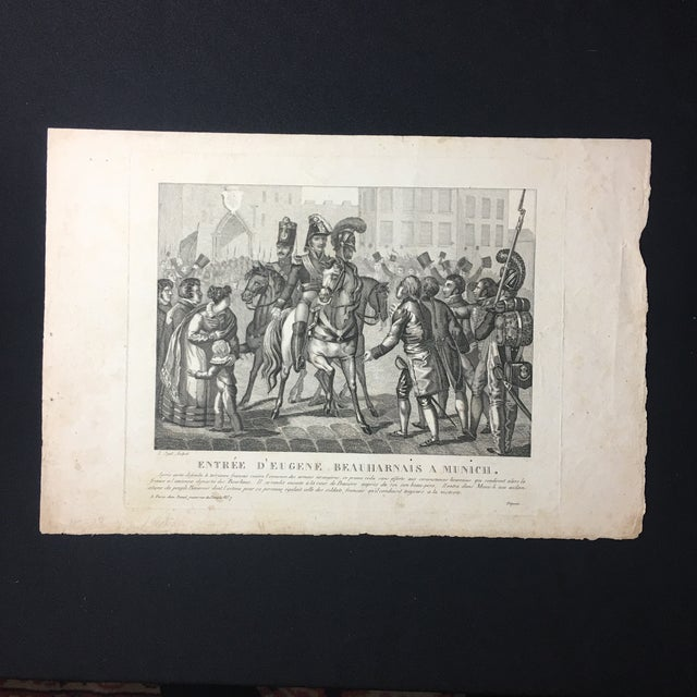 19th C. French Engraving - Image 2 of 7