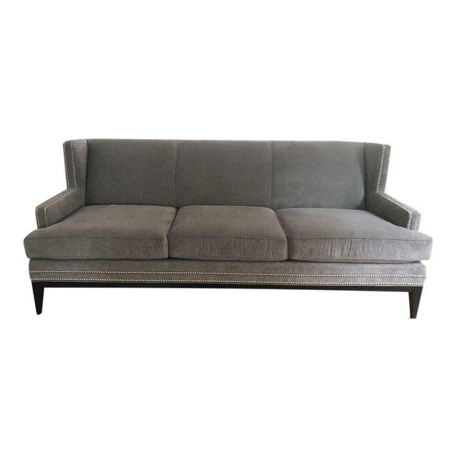 Mitchell Gold Bob Williams Slate Gray Tasha Sofa Chairish