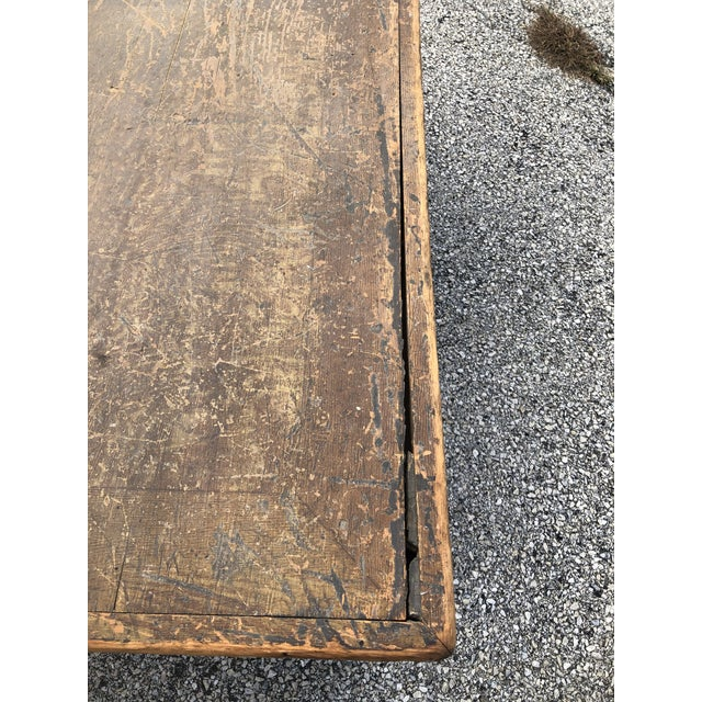Wood Late 19th Century Primitive Blanket Chest For Sale - Image 7 of 12