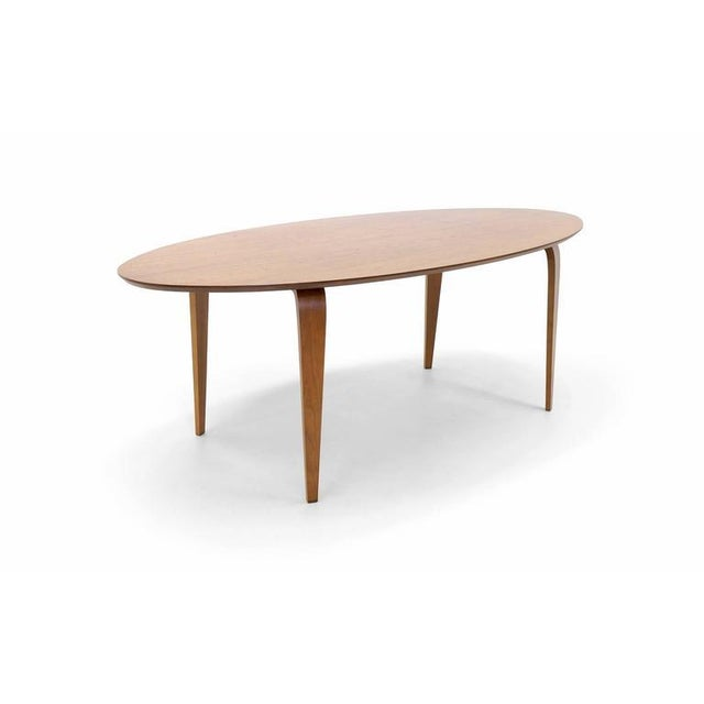 Norman Cherner Oval Dining Table - Image 2 of 6
