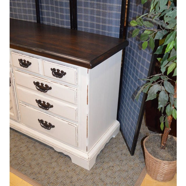 Thomasville Shabby Cottage Chic Dresser - Image 3 of 11
