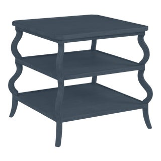 Abbott Tiered Side Table, Hale Navy For Sale