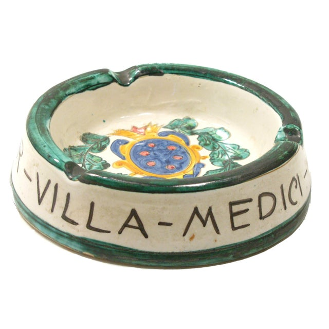 Italian Majolica Ashtray - Image 1 of 4