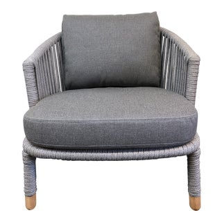 Cane-Tine New Moments Arm Chair For Sale