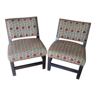 Lee Industries Shin Toaster Chairs - a Pair For Sale
