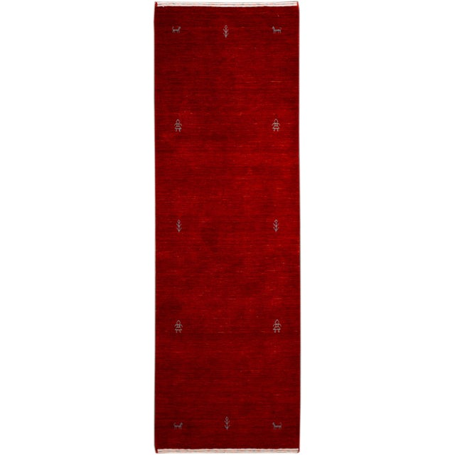 21st Century Contemporary Gabbeh Rug For Sale - Image 10 of 10