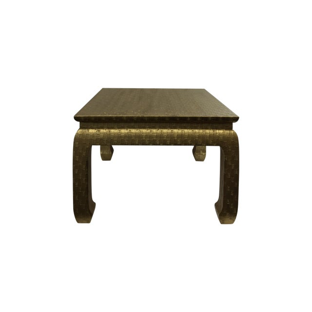 Gold Ming Foot Small Table - Image 1 of 5