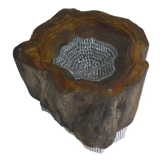 Sculptural Coffee Table Base For Sale