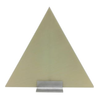 Modern Triangle Candle With Stand