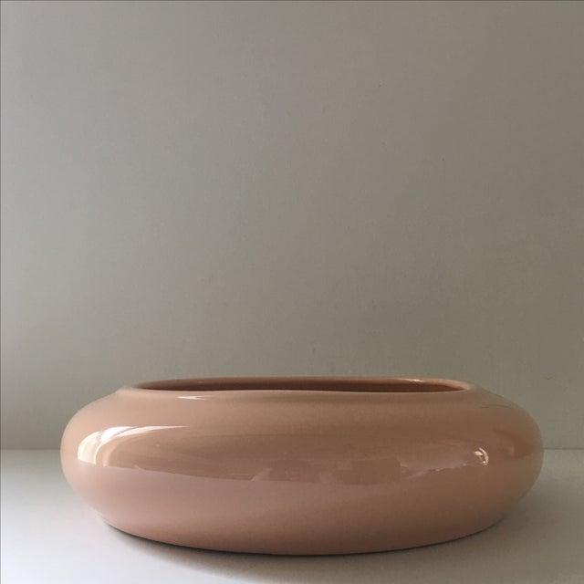 Pale Peach Ceramic Vessel - Image 5 of 5