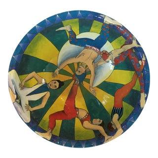 Circus Motif Ceramic Bowl