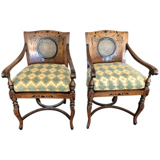 Anglo-Portuguese Armchairs - a Pair For Sale