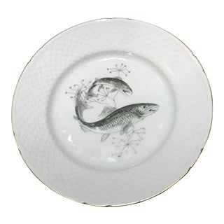 Bing and Grondahl Lox/Salmon Fish Dinner Plate For Sale
