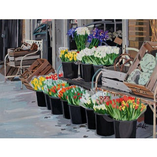 Contemporary Giclee Print - Buckets & Baskets For Sale