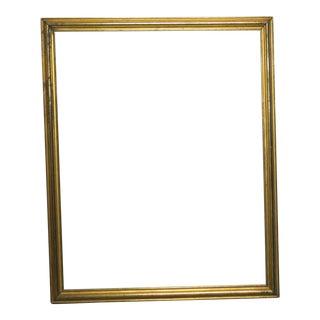 Antique Gold Gilt Frame Mid 1800s For Sale