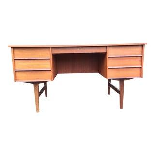 Mid-Century Teak Desk For Sale