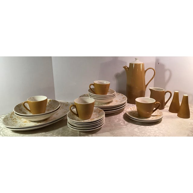 Sheffield Sheffield Golden Meadow Ironstone Set - 30 Pieces For Sale - Image 4 of 11