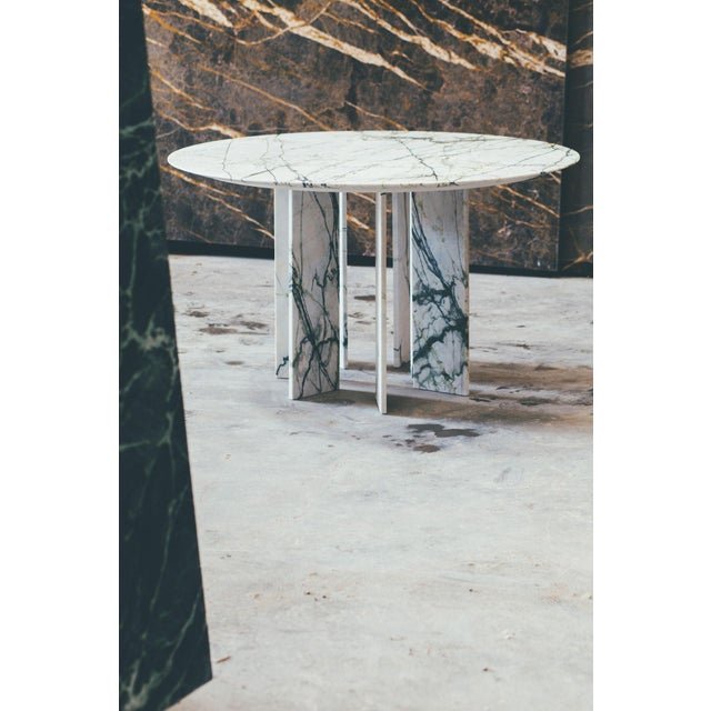 Metal Dining Table by Jeroen Thys Van Den Audenaerde For Sale - Image 7 of 13