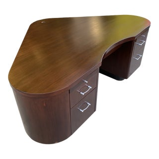 Art Deco Fletcher Aviation Executive Desk For Sale