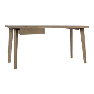 Adonis Desk, Bleached Walnut For Sale