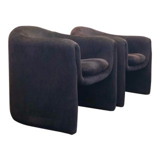 1990s Vladimir Kagan for Preview Biomorphic Freeform Armchairs - a Pair For Sale