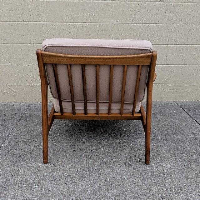 Mid-Century Modern Mid-Century Ib Kofod-Larsen Danish Lounge Chair For Sale - Image 3 of 13