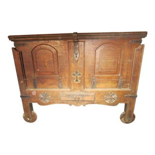 Indian Wood Chest For Sale