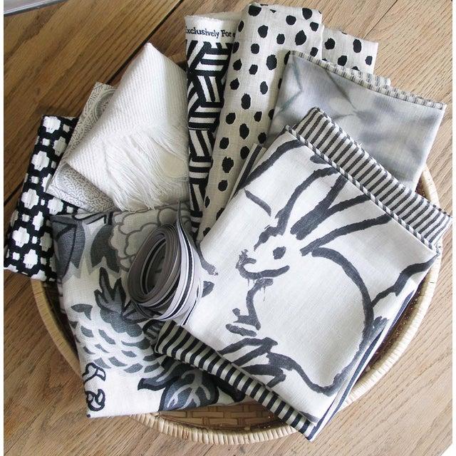 Cotton Miles Redd Tumbling Blocks Geometric Schumacher Pillow Cover For Sale - Image 7 of 8