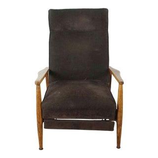 Milo Baughman-Style Modern Recliner Chair For Sale